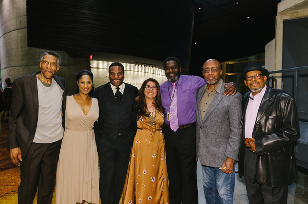 William Hall Jr., Nicole Lewis, Reginald Andre Jackson, Juliette Carrillo, Frank Riley III, David Emerson Toney and Eugene Lee