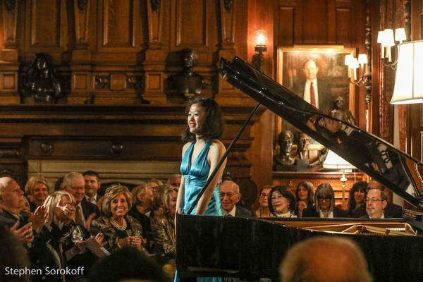 Photo Coverage: 9th New York International Piano Competition & 58th Anniversary of The Stecher and Horowitz Foundation Celebrated at The Lotos Club