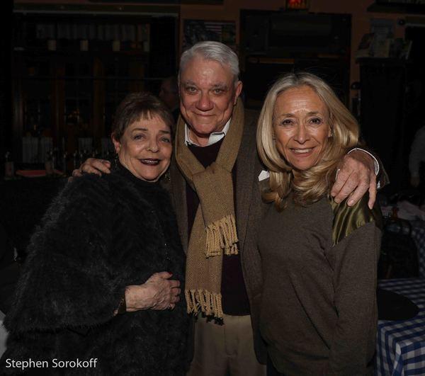Sandy Stewart, Rex Reed, Eda Sorokoff