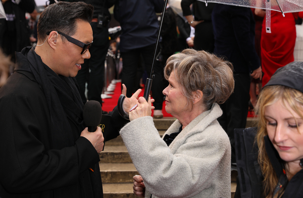 Gok Wan, Imelda Staunton Photo
