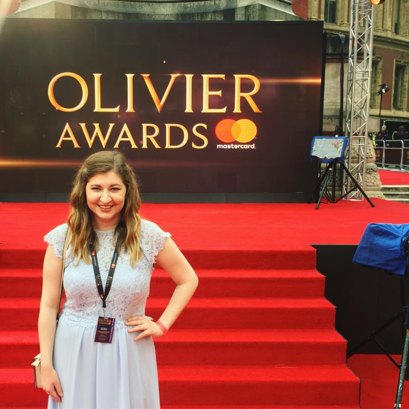 Rachelle Ann Go performs with 'Hamilton' cast at Olivier Awards