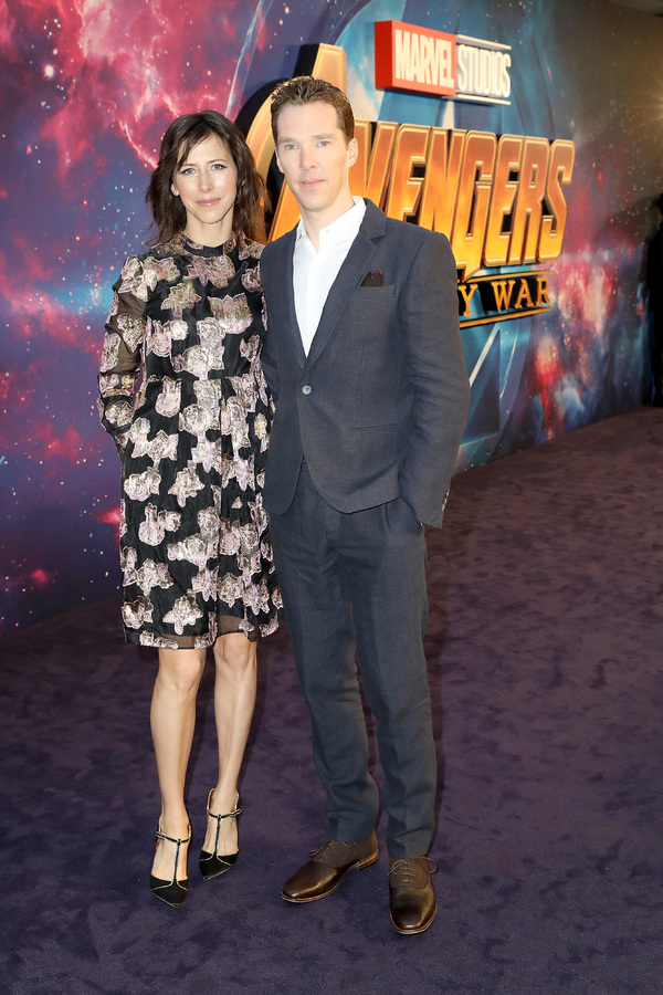Sophie Hunter  and Benedict Cumberbatch  Photo