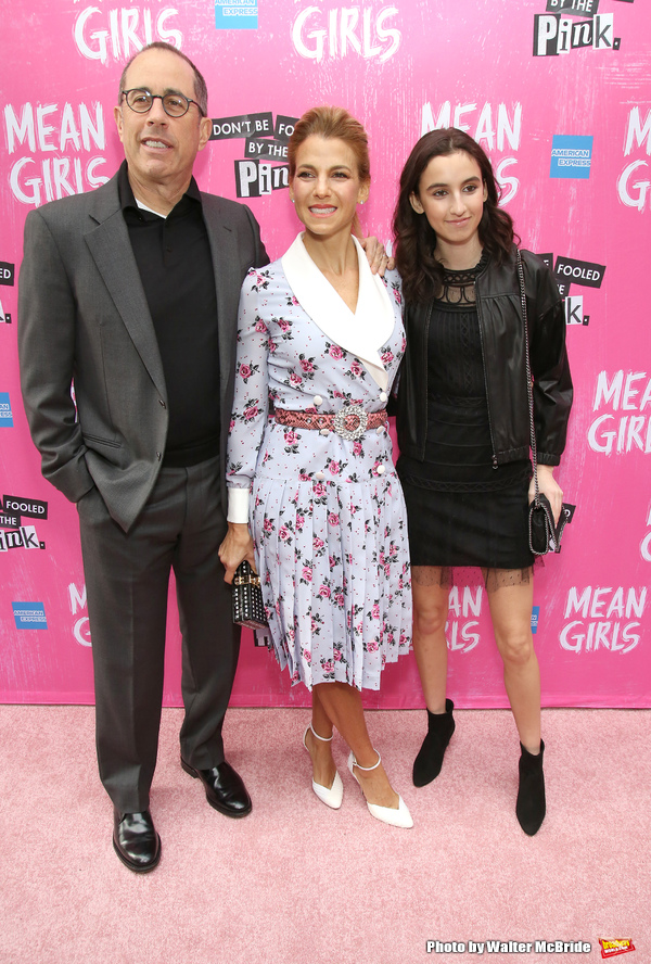 Jerry Seinfeld, Jessica Seinfeld with daughter