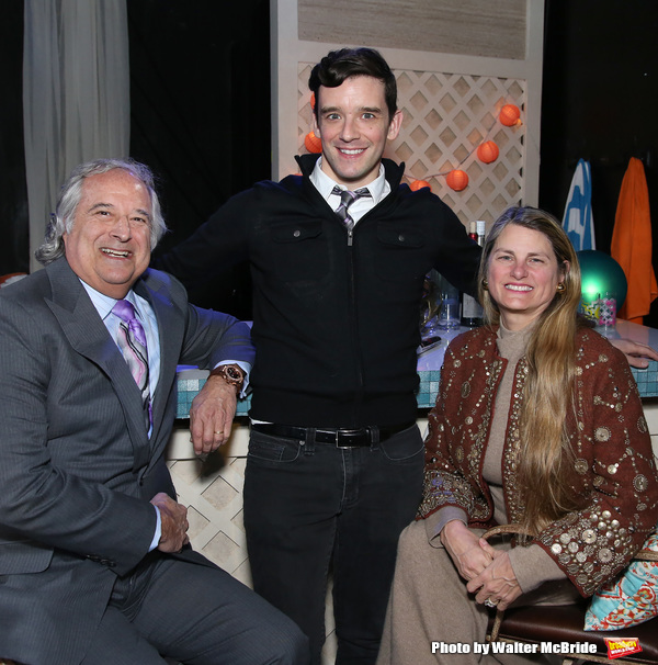 Stewart F. Lane, Michael Urie and Bonnie Comley