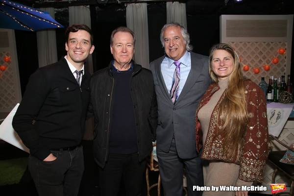 Michael Urie, David Horn, Stewart F. Lane and Bonnie Comley
