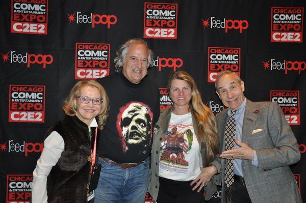 Pat Swinney Kaufman, Stewart F. Lane, Bonnie Comley, Lloyd Kaufman Photo