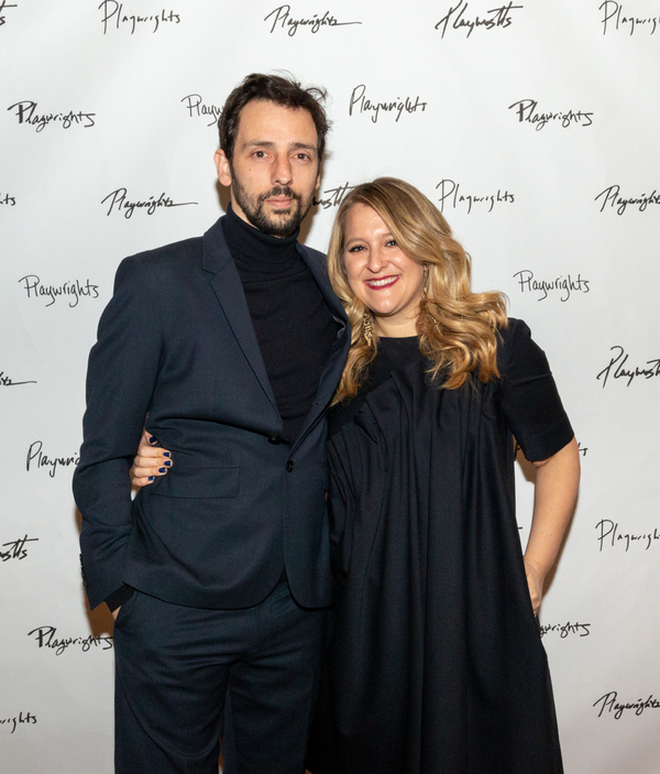 Ralf Little and Lindsey Ferrentino