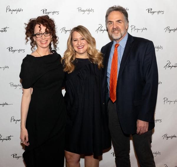 Rebecca Taichman, Lindsey Ferrentino and Tim Sanford