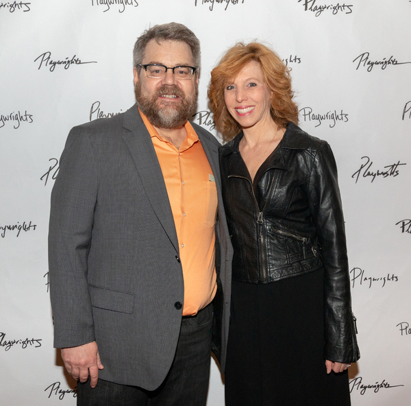 Kent Nicholson and Maddie Corman