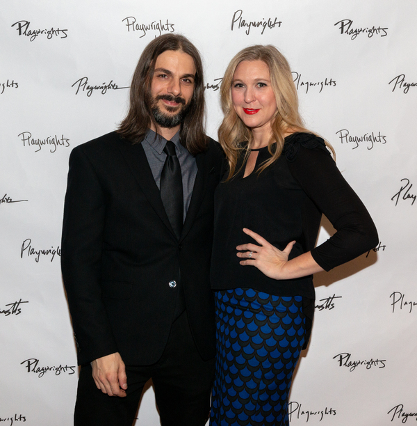 Lucas Papaelias and Cassie Beck