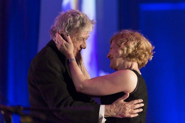 Tom Stoppard and Carey Perloff