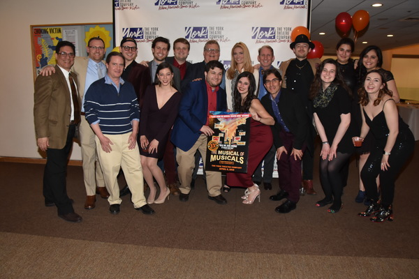 Photo Coverage: Go Inside York Theatre Company's Gala, THE MUSICAL OF MUSICALS!