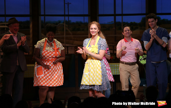 Photo Coverage: Easy as Pie! Katharine McPhee Makes Her Broadway Debut in WAITRESS