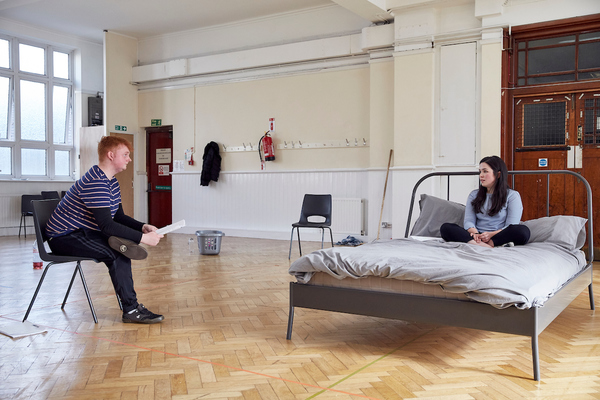 Photo Flash: In Rehearsal with National Youth Theatre's THE FALL