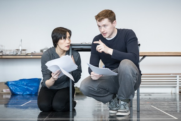 Photo Flash: In Rehearsal with DESCRIBE THE NIGHT