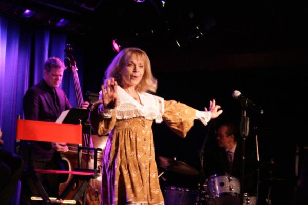 Lane Bradbury - the original Dainty June to Ethel Merman's Mama Rose opened the show. Photo