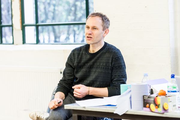 Photo Flash: In Rehearsal with NOT TALKING at the Arcola Theatre
