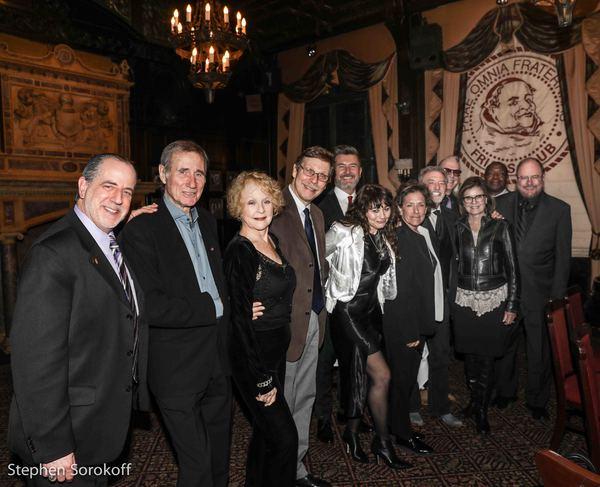 Bob Spiotto, Jim Dale, Penny Fuller, Barry Kleinbort, Francis Ruffelle, Julie Gold, Larry Gatlin, Janice Gatlin, Rupert Holmes