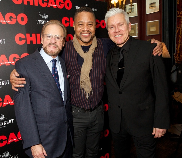 Barry Weissler & Cuba Gooding Jr & David Ian  Photo