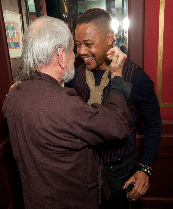 Photo Flash: Cuba Gooding Jr., Ruthie Henshall, and the Cast of CHICAGO Celebrate Opening Night