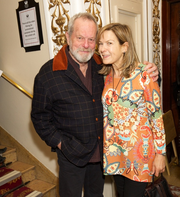 Terry Gilliam & Penny Smith