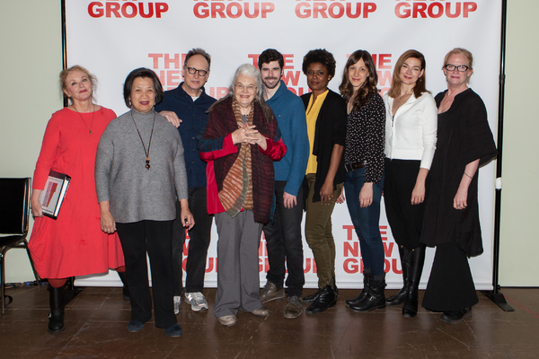 Photo Flash: Meet the Company of The New Group's PEACE FOR MARY FRANCES