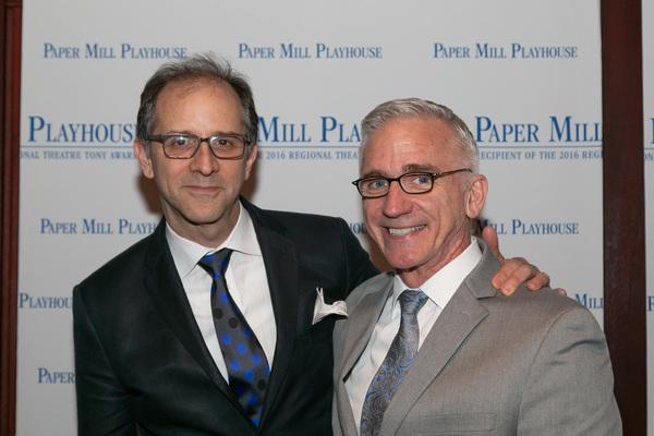 John Rando with Mark S. Hoebee