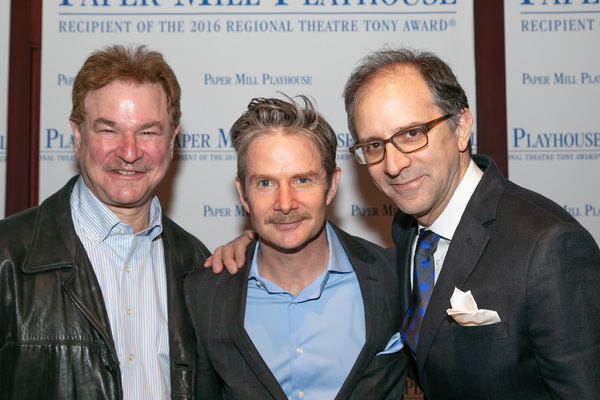 ):  Robert Wuhl, Peter Benson, John Rando Photo
