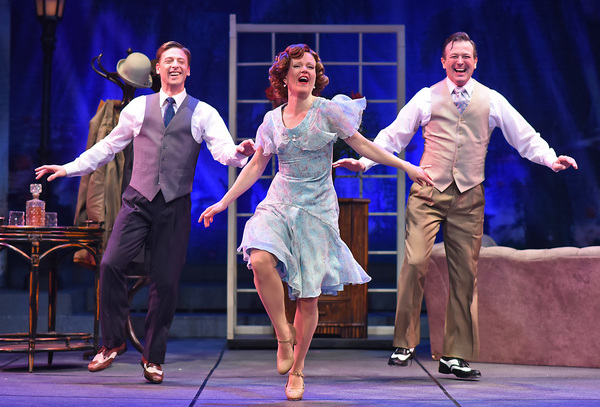 Photo Flash: SINGIN' IN THE RAIN Opens Tonight at Beef & Boards