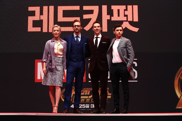 Tom Hiddleston; Benedict Cumberbatch; Tom Holland; Pom Klementieff