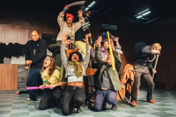 Photo Flash: Theatre Horizon's PETER AND THE STARCATCHER In Rehearsal