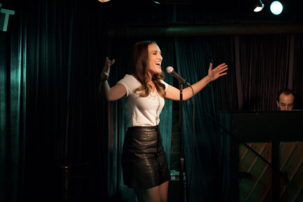 Caitlin Lester-Sams sings the merits of being a Man from The Full Monty Photo
