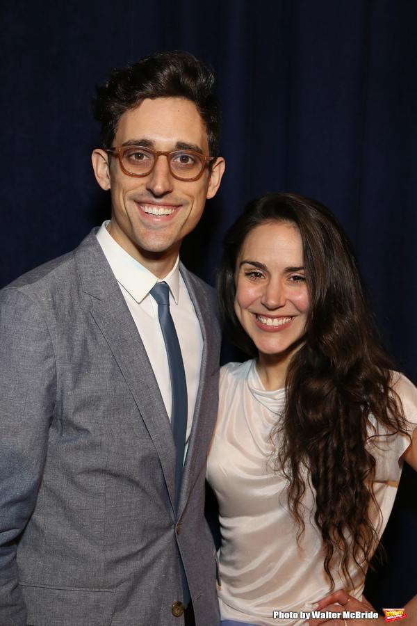 Justin Peck and Patricia Delgado Photo