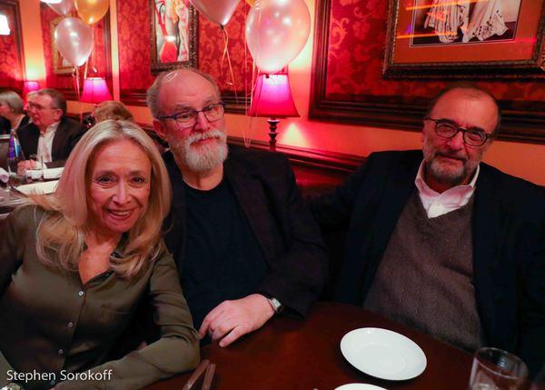 Eda Sorokoff, William Finn, Arthur Salvadore Photo