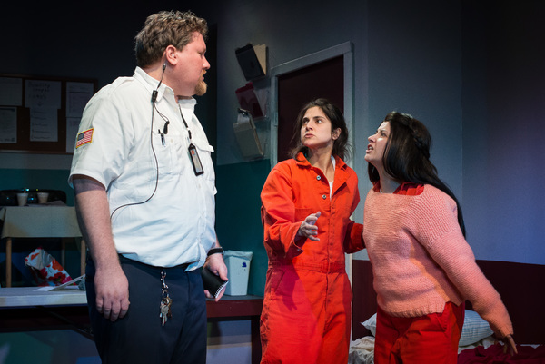 Photo Flash: First Look at Up Theater Co's DETAINED