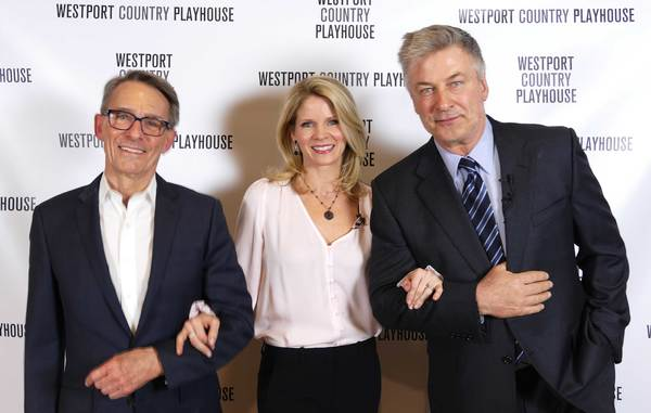 Mark Lamos, Kelli O'Hara, and Alec Baldwin