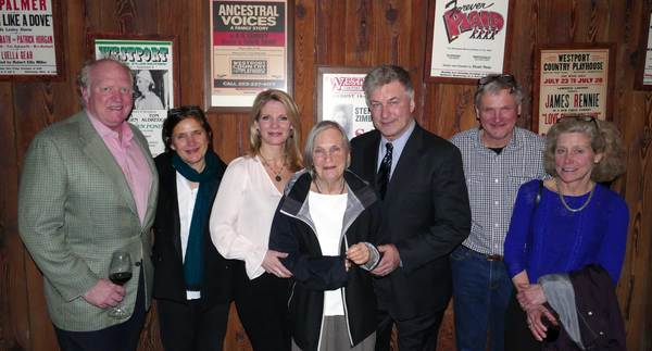 Fred Gurney and Amy Gurney Nicholas; Kelli O'Hara; Molly Gurney, Alec Baldwin; George Gurney and Connie Gurney