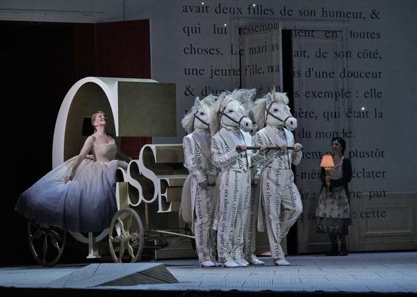 Joyce DiDonato in the title role of Massenet's Cendrillon. Photo: Ken Howard / Met Opera