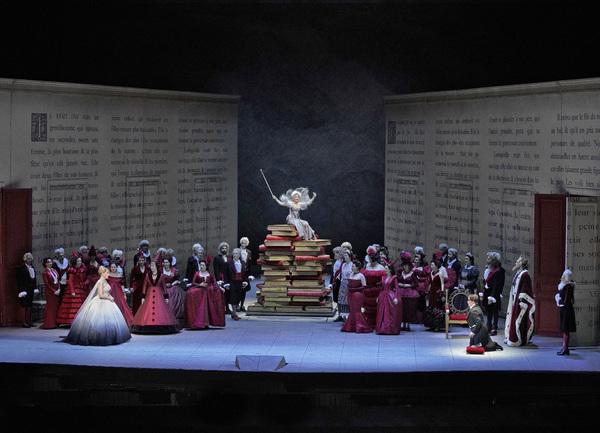 A scene from Massenet's Cendrillon. Photo: Ken Howard / Met Opera   Photo