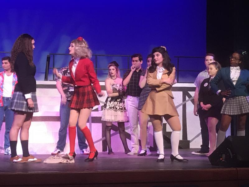 BWW Reviews: Denton Community Theatre's HEATHERS Belting Vocals and Black Humor Make for Big Fun