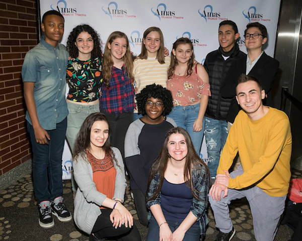 Students from the Rosetta LeNoire Musical Theatre Academy Photo