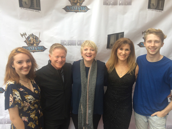 Nicole Criss, Eric Scott, Alison Arngrim, Judy Norton and Joey Luthman Photo