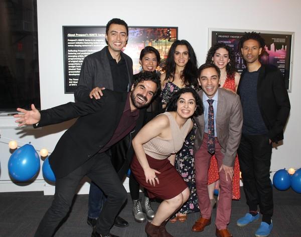 Ashkon Davaran, Graham Stevens, Jen Anaya, Yassi Noubahar, Sepideh Moafi, Gabriella Perez, Ben Steinfeld and Chad Goodridge