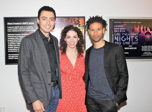 Graham Stevens, Gabriella Perez and Chad Goodridge