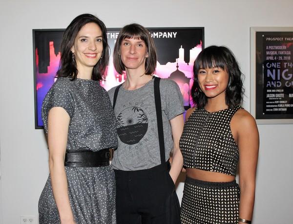 Marisa Michelson, Erin Ortman and Karla Garcia Photo