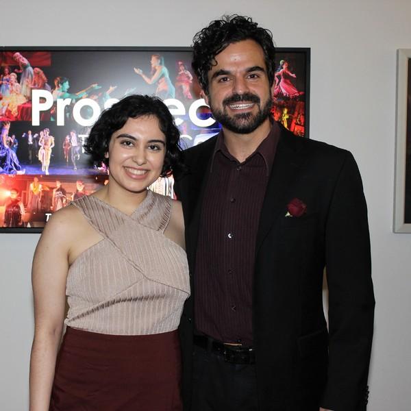 Yassi Noubahar and Ashkon Davaran Photo
