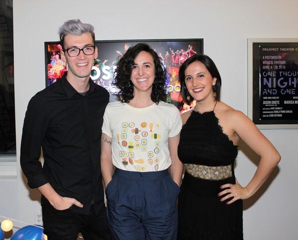Jacob Yates, Mia Crivello and Taylor McMahon