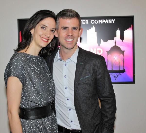 Marisa Michelson and Kurt Crowley