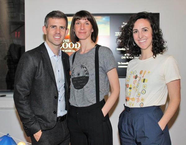 Kurt Crowley, Erin Ortman and Mia Crivello