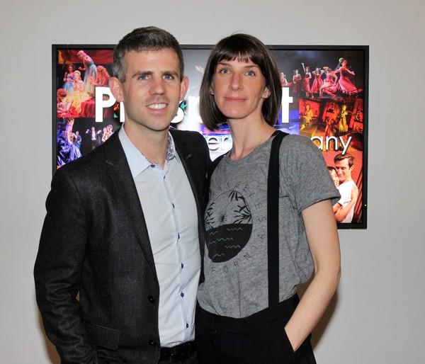 Kurt Crowley and Erin Ortman